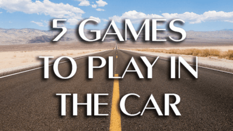 5 Car Games For Kids