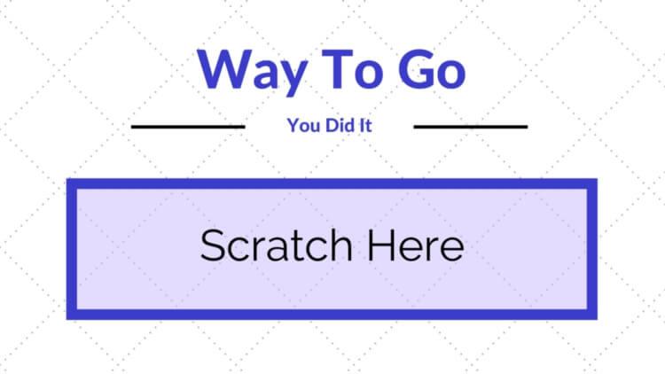 Scratch Offs – Rewards for Good Behavior – Printable