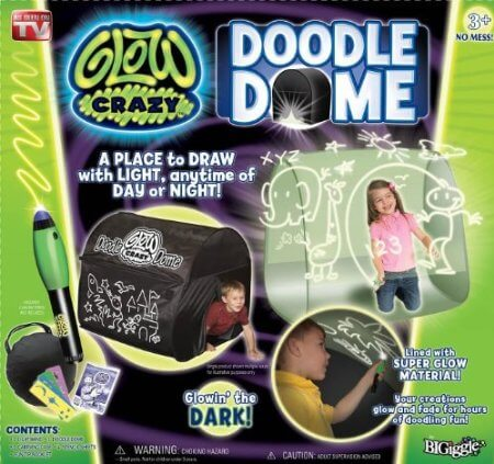 sc 1 st  Just Playing House & Glow Crazy Doodle Dome Review