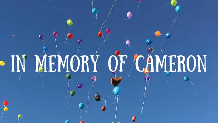 Cameron's Memorial Balloon Launch