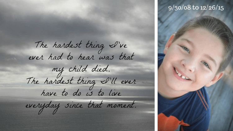 Losing a Child - Our Story