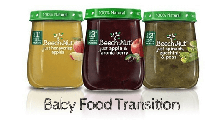 Feeding Baby Food – Our Transition