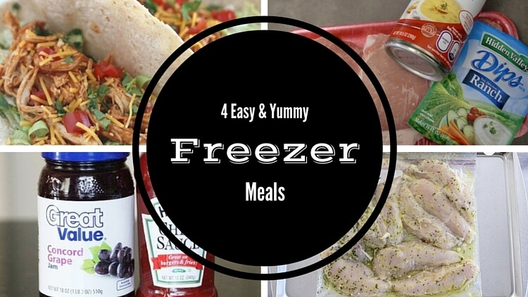 Easy Freezer Meal Lineup – Tested & Loved