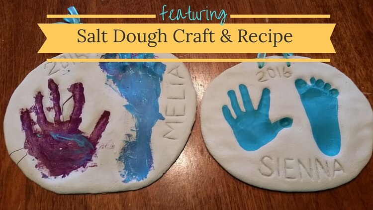 Salt Dough Recipe - Handprints & Footprints