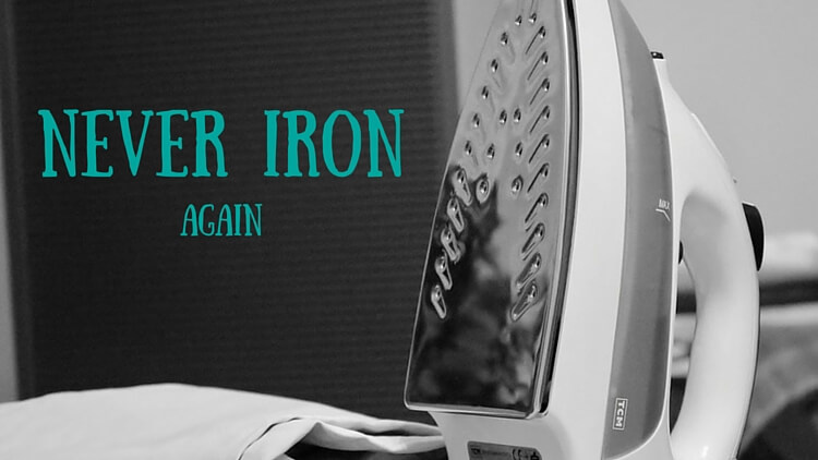 The Best Laundry Time Saver – Never Iron Again