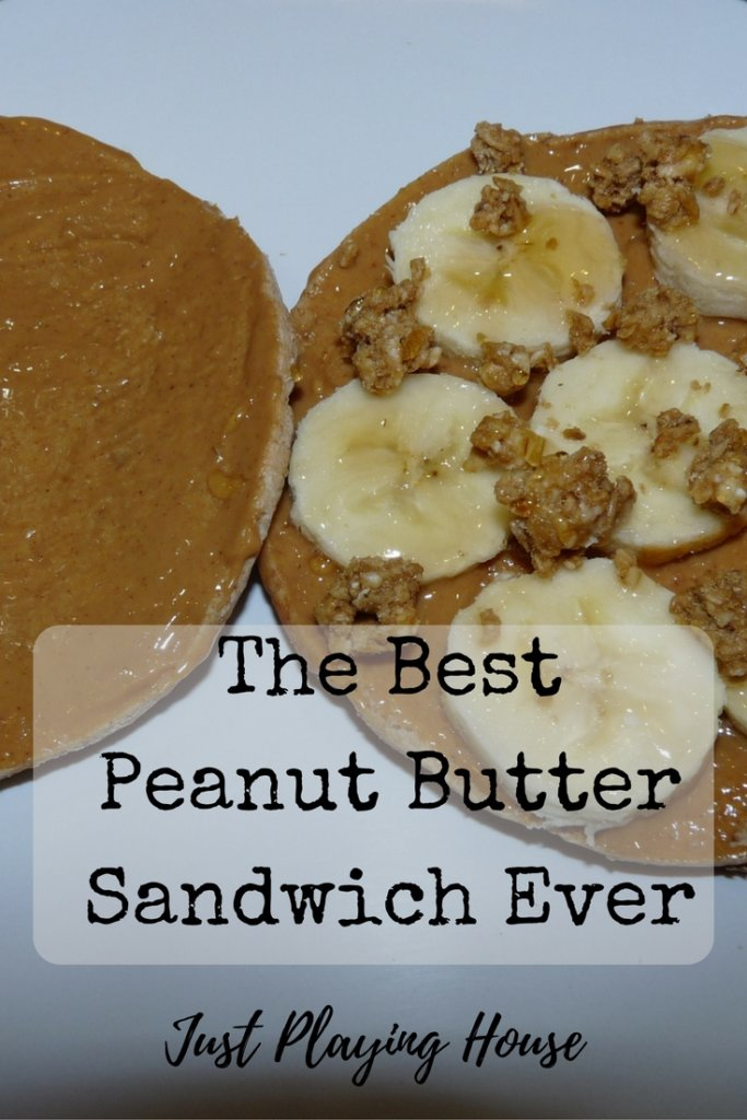 how to make the best peanut butter sandwich