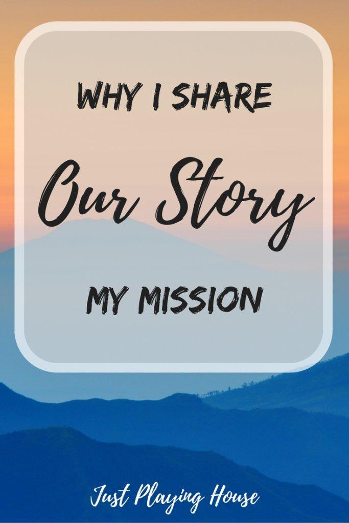 why i share