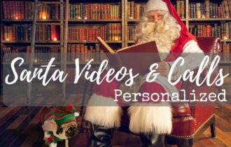 Get A Personalized Video or Call From Santa!