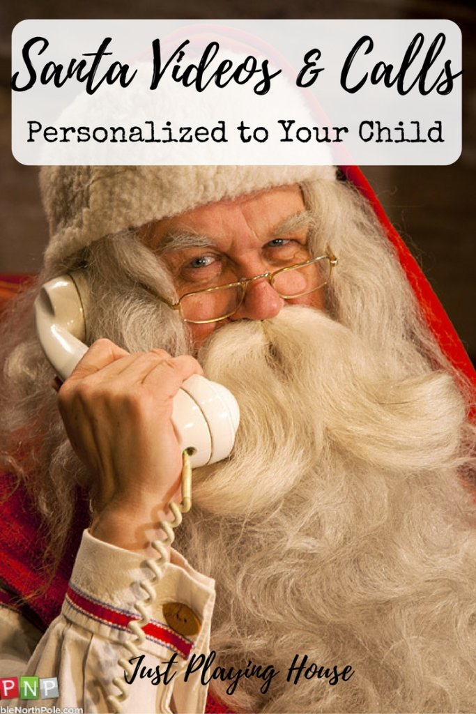 personalized santa video