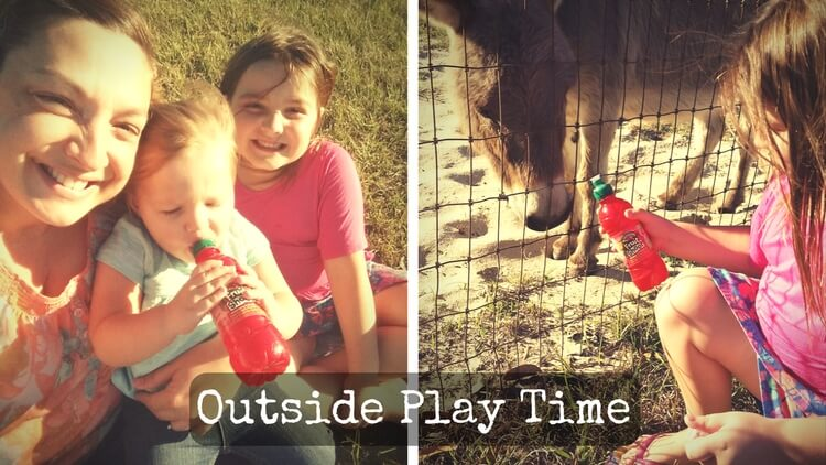 Outside play time