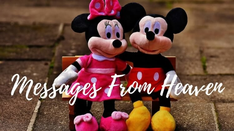 How Minnie Mouse Delivered A Message From Heaven