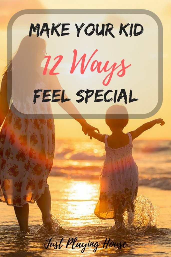 Make your kid feel special