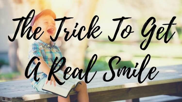 The Trick Guaranteed To Make A Kid's Fake Smile Real
