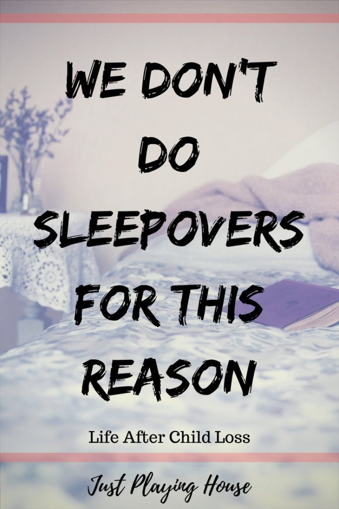 not to sleepover